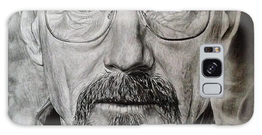 Walter Galaxy S8 Case featuring the drawing Walter White by Joshua Navarra