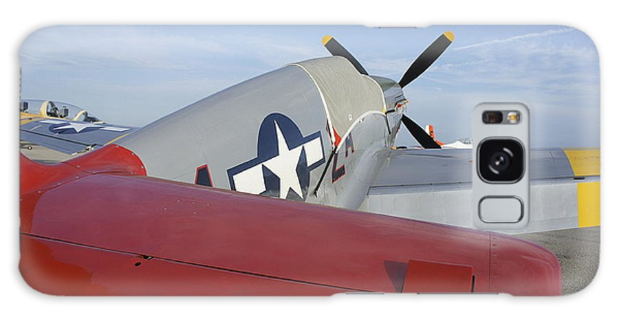 Historic War Plane Galaxy S8 Case featuring the photograph War Bird by Laurie Perry