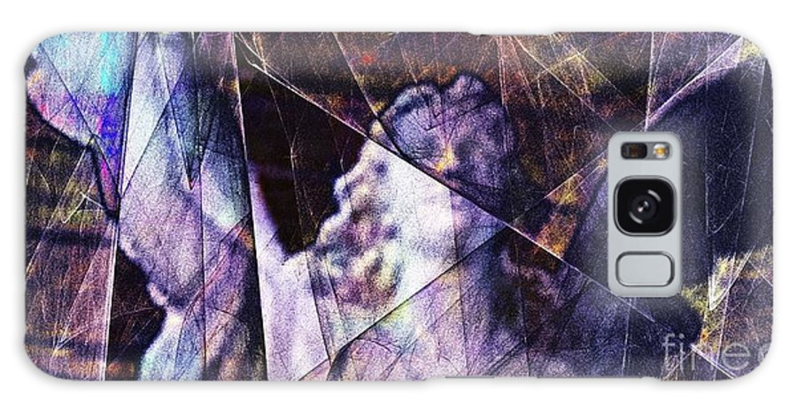 Warehouse Galaxy S8 Case featuring the digital art Warehouse Angel / Through The Broken Glass by Elizabeth McTaggart