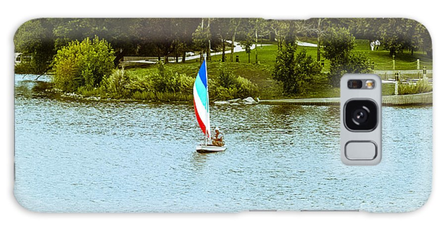 Lake Sailing Galaxy S8 Case featuring the photograph Wascana-16 by David Fabian