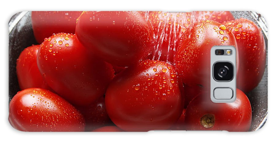 Garden Galaxy S8 Case featuring the photograph Washing The Garden Harvest by Lincoln Rogers