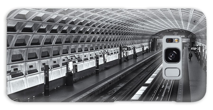 Clarence Holmes Galaxy S8 Case featuring the photograph Washington Dc Metro Station I by Clarence Holmes