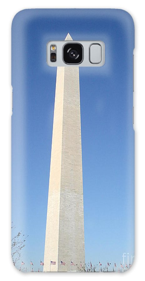Landscape Galaxy S8 Case featuring the photograph Washington Monument  by Aimee Vance