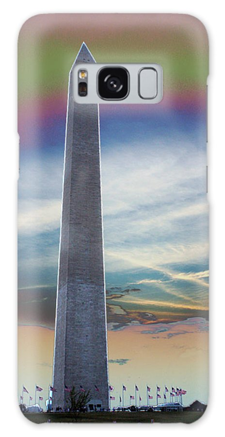 Washington Monument Galaxy S8 Case featuring the photograph Washington Monument by Calphy Com