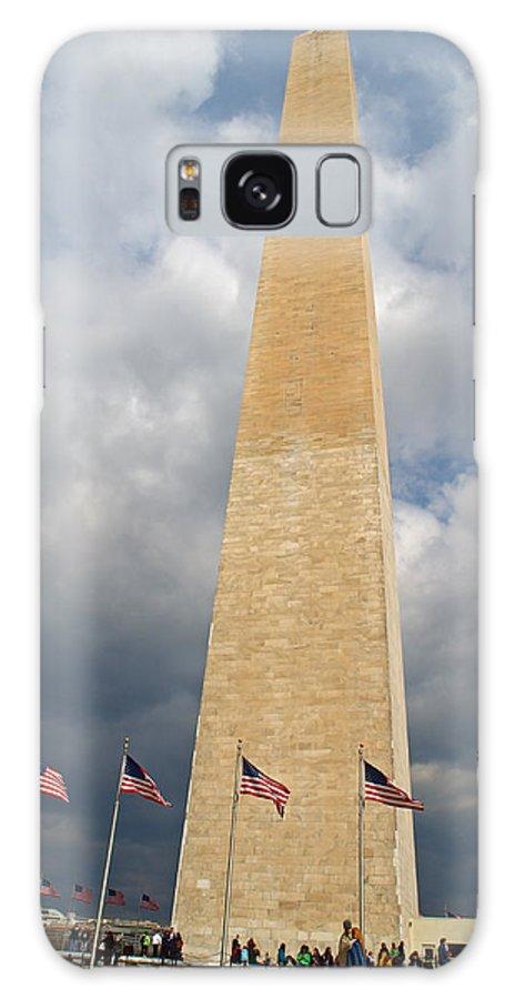 Washington Monument Galaxy S8 Case featuring the photograph Washington Monument by Rachel Sanderoff