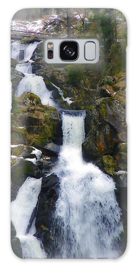 Triberg Galaxy S8 Case featuring the photograph Wasserfalle by Carol Lynn Pasewark