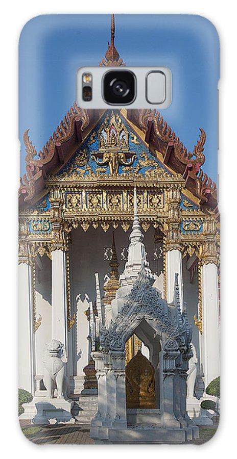 Bangkok Galaxy S8 Case featuring the photograph Wat Amarintaram Ubosot Dthb1507 by Gerry Gantt