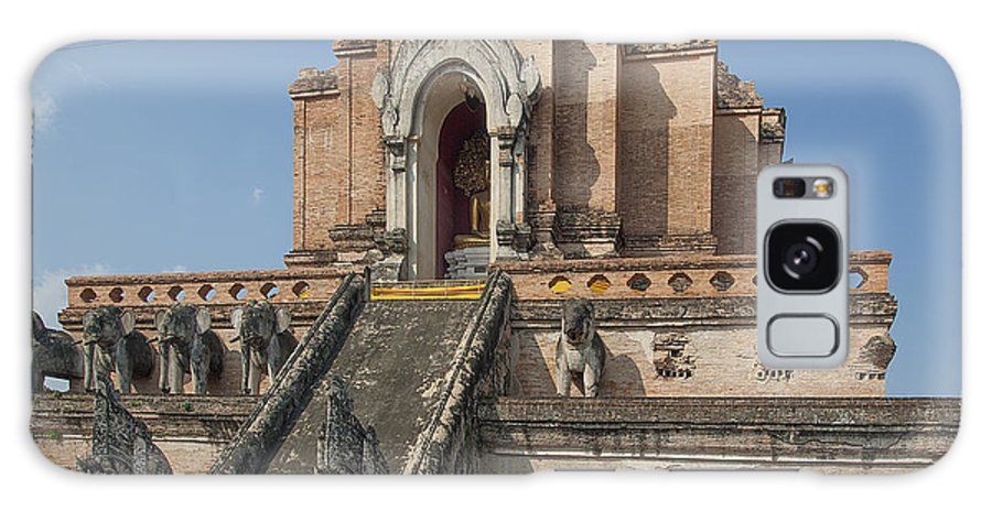 Thailand Galaxy S8 Case featuring the photograph Wat Chedi Luang Phra Chedi Luang Dthcm0048 by Gerry Gantt