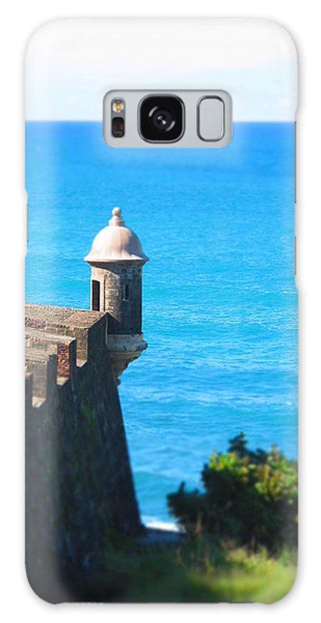 Old San Juan Galaxy S8 Case featuring the photograph Watchtower Of San Juan by Joel Eagan