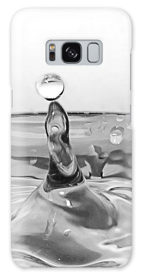 Water Drop Galaxy S8 Case featuring the photograph Water Drop Circus Act by Kathryn Whitaker