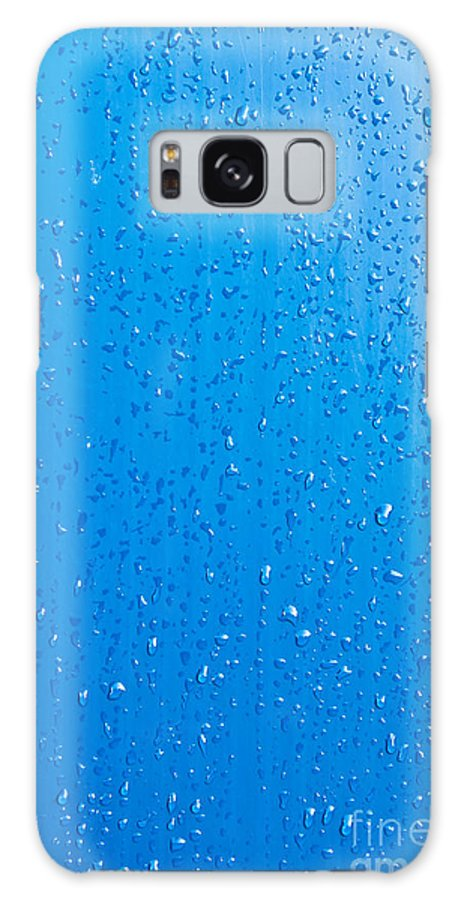Water Galaxy S8 Case featuring the photograph Water Drops by Luis Alvarenga