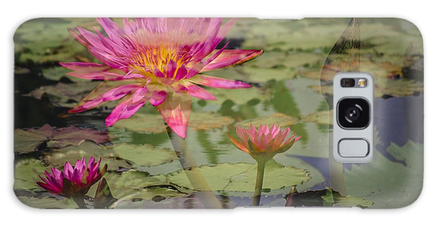 Beautiful Galaxy S8 Case featuring the photograph Water Garden Dream by Penny Lisowski