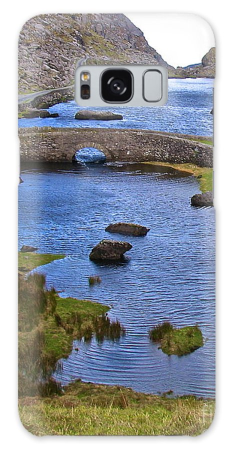 Gap Of Dunloe Bridge Ireland County Kerry Galaxy S8 Case featuring the photograph Water Under The Bridge by Suzanne Oesterling