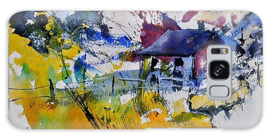 Landscape Galaxy S8 Case featuring the painting Watercolor 413050 by Pol Ledent