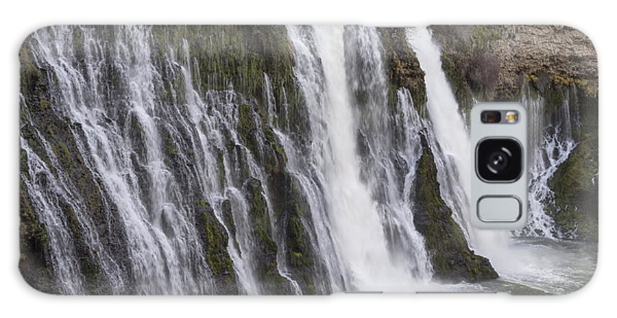 California Galaxy S8 Case featuring the photograph Waterfall At Macarthur-burney Falls State Park by Carol M Highsmith