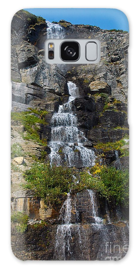 Water Galaxy S8 Case featuring the photograph Waterfall by Cindy Murphy - NightVisions