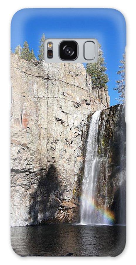 Rainbow Galaxy S8 Case featuring the photograph Waterfall Rainbow by Julia Ivanovna Willhite