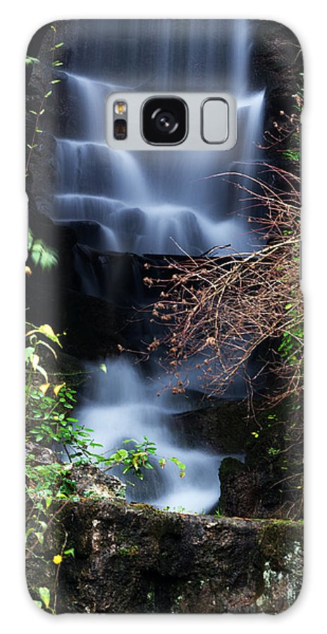 Waterfall Galaxy S8 Case featuring the photograph Waterfall by Thomas Launois