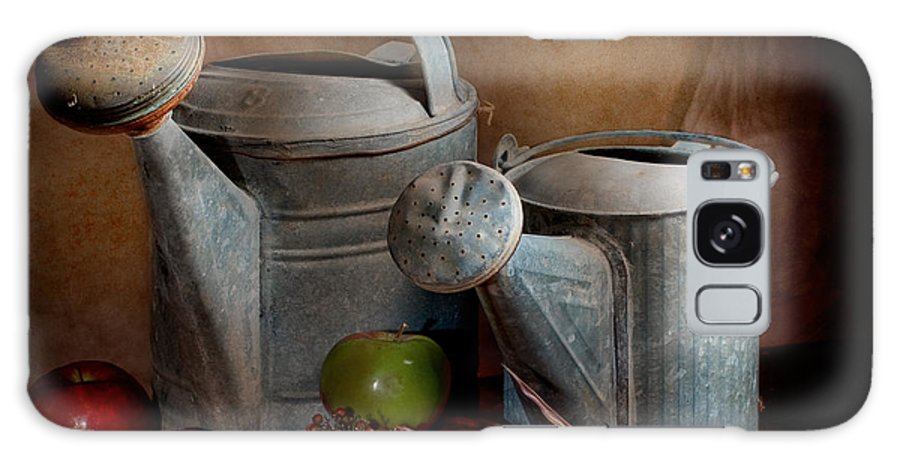 Watering Can Galaxy S8 Case featuring the photograph Watering Cans by David and Carol Kelly