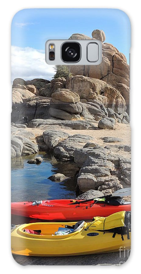 Watson Lake Galaxy S8 Case featuring the photograph Watson Lake by Diane Greco-Lesser