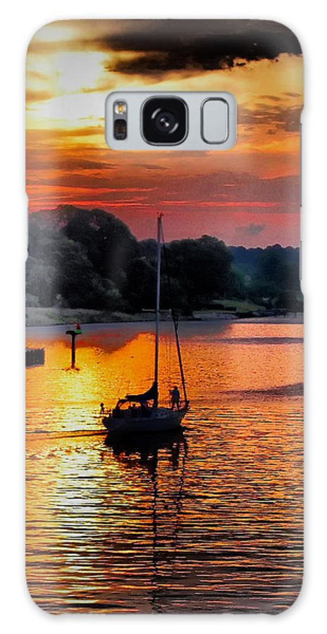 Sunrise Galaxy S8 Case featuring the photograph We Sail At Sunrise by Robert McCubbin