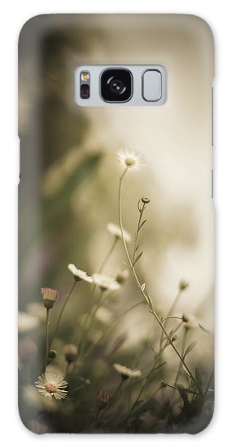 Flower Galaxy S8 Case featuring the photograph Weeded Desire - Dark by Jamian Stayt
