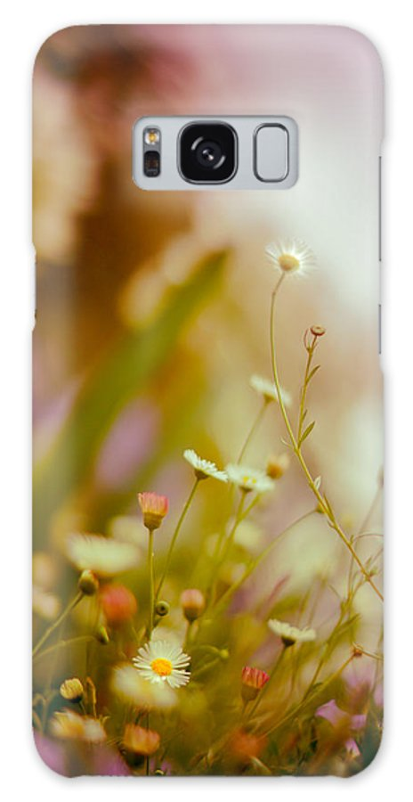 Flower Galaxy S8 Case featuring the photograph Weeded Desire - Light by Jamian Stayt