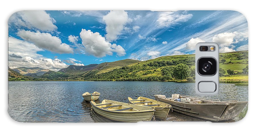 Boat Galaxy S8 Case featuring the photograph Welsh Boats by Adrian Evans