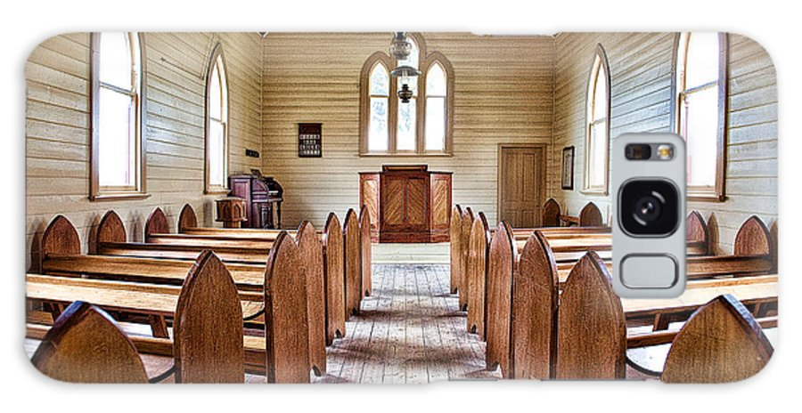 Australia Galaxy S8 Case featuring the photograph Wesleyan Methodist Church by Yew Kwang