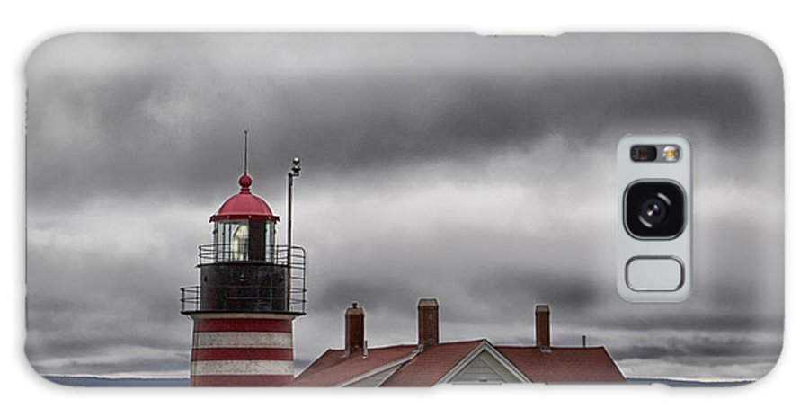 Lighthouse Galaxy S8 Case featuring the photograph West Quoddy Lighthouse by Jerry Fornarotto