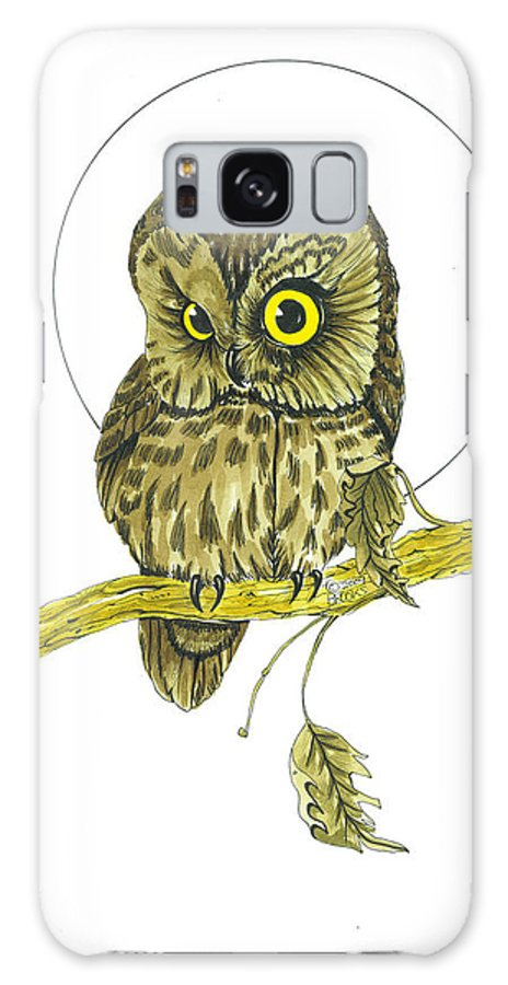 Wildlife Galaxy S8 Case featuring the drawing What's Up by Richard Brooks