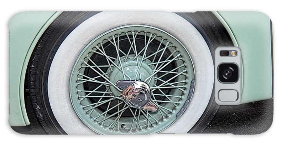 Vintage Car Galaxy S8 Case featuring the photograph Wheels by Brenda Hackett