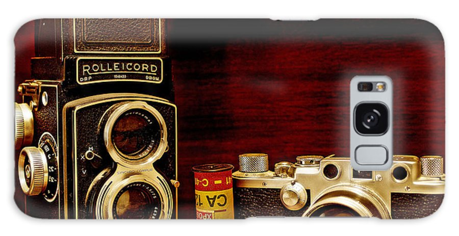 Cameras Galaxy S8 Case featuring the photograph When Film Was King by John Anderson