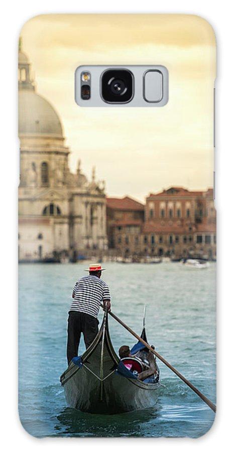 People Galaxy Case featuring the photograph When In Venice... | Venezia Explore by Copyright Lorenzo Montezemolo