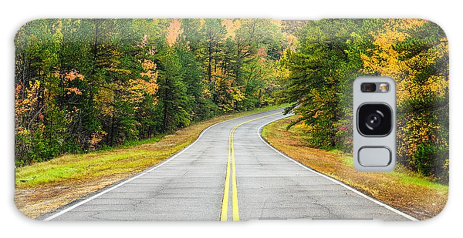 Talimena Scenic Highway Galaxy S8 Case featuring the photograph Where This Road Will Take You - Talimena Scenic Highway - Oklahoma - Arkansas by Silvio Ligutti