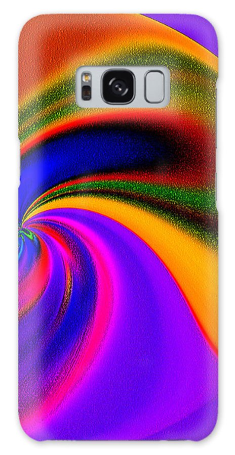 Abstract Galaxy S8 Case featuring the photograph Whirling Dervish by Terril Heilman