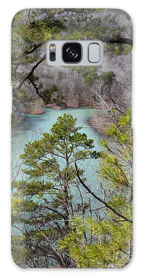 Landscape Galaxy S8 Case featuring the photograph Whistling Pines by Deanna Cagle