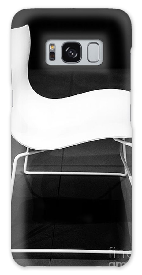 Furniture Galaxy S8 Case featuring the photograph White Chair by Christy Lang