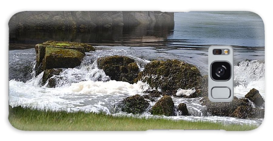 Rocks Galaxy S8 Case featuring the photograph White Water Beauty by Chris Carswell