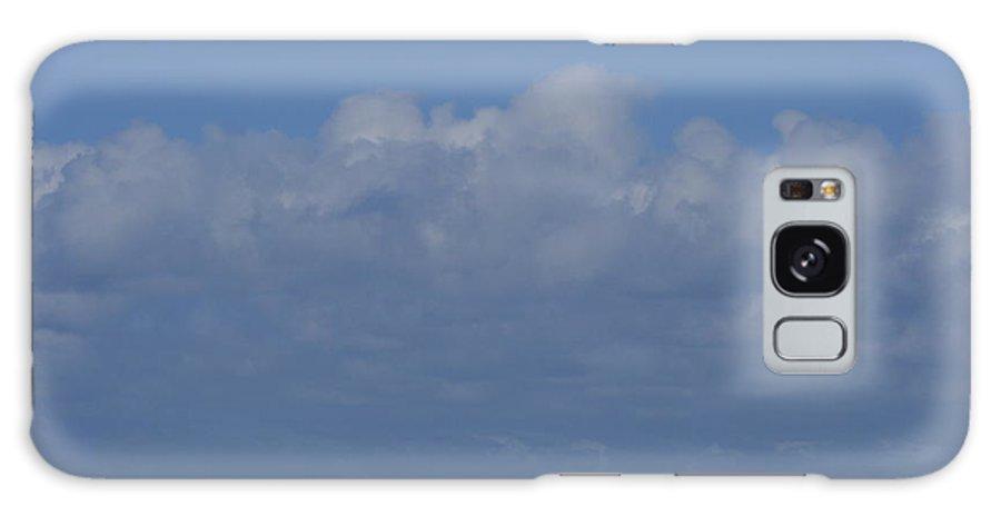 White Wave Galaxy S8 Case featuring the photograph White Wave Seascape by Phoenix De Vries