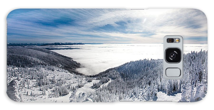 Sun Galaxy S8 Case featuring the photograph Whitefish Inversion by Aaron Aldrich