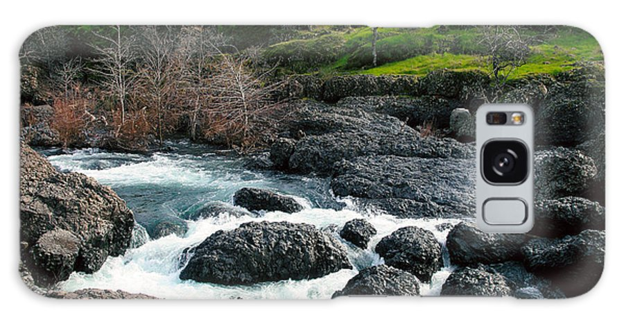 Rapids Galaxy S8 Case featuring the photograph Whitewater At Bear Hole by Robert Woodward