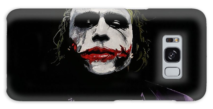 Painting Galaxy S8 Case featuring the painting Why So Serious by Kohdai Kitano
