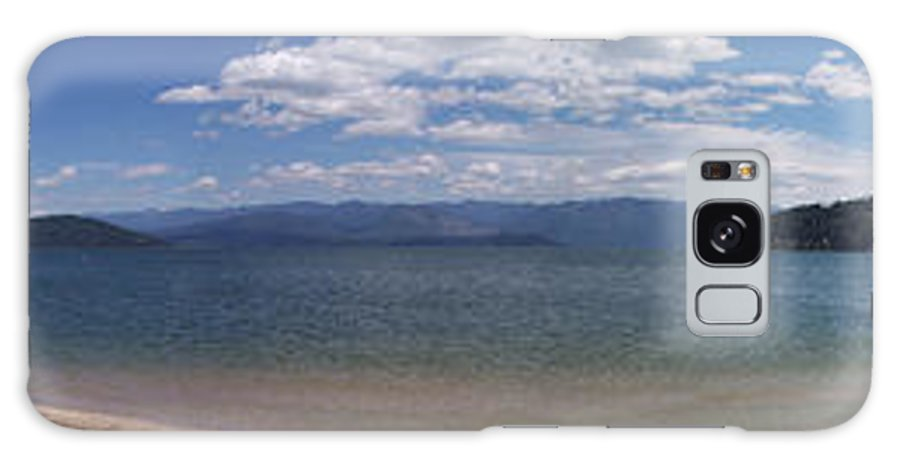 Lake Pen O'reille Galaxy S8 Case featuring the photograph Wide Pan At Sandpoint by Georgia Hamlin