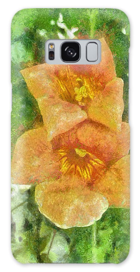 Bloom Galaxy S8 Case featuring the painting Wild Flowers by Jeffrey Kolker