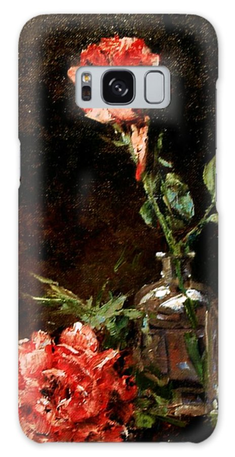 Floral Galaxy S8 Case featuring the painting Wild Irish by Jim Gola
