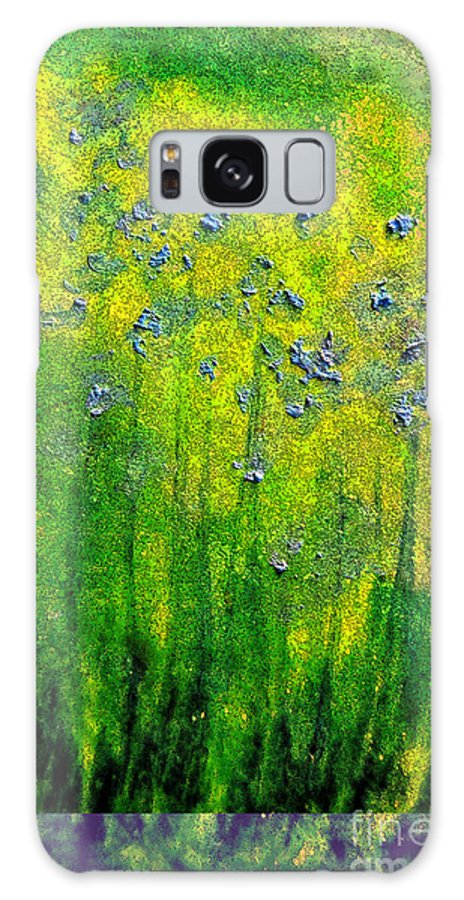 First Star Art Galaxy S8 Case featuring the painting Wildflower Impression By Jrr by First Star Art