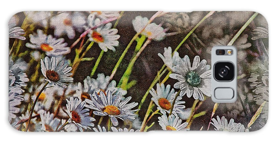 Daisy's Galaxy S8 Case featuring the photograph Wildflowers by Hanny Heim