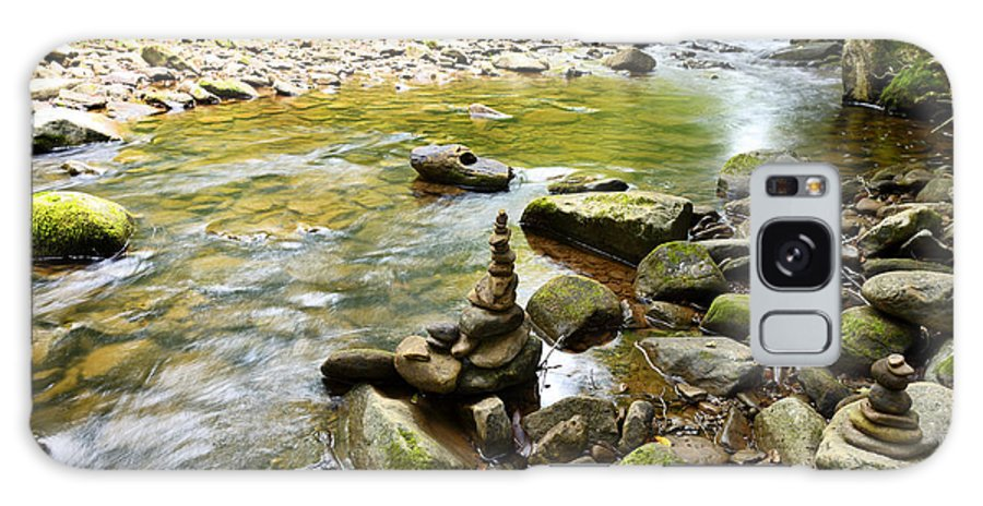 Williams River Galaxy S8 Case featuring the photograph Williams River Headwaters Zen Rocks by Thomas R Fletcher