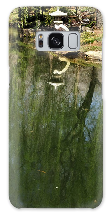 Weeping Willow Galaxy S8 Case featuring the photograph Willow Reflection 2 by George Taylor